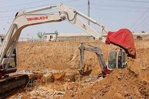 竹内挖掘机图片集2