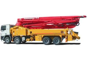 普茨迈斯特M49-5RZ混凝土输送泵车 图片集