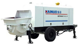 海諾HBTS60EII拖式混凝土泵圖片集