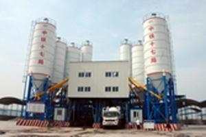 華建HZS120型混凝土攪拌站