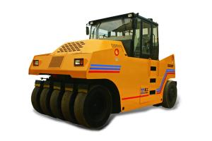 厦工XG6262P轮胎压路机图片集
