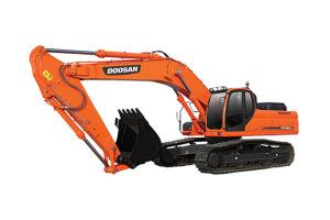 斗山DX420LC履带挖掘机