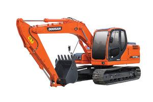 斗山DX150LC履带挖掘机