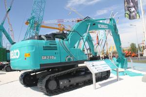 神钢SK210LC-10履带挖掘机图片集