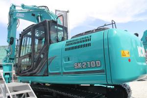神钢SK210D-10汽车解体机图片集