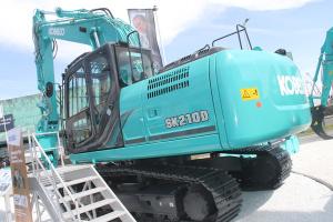 神钢SK210D-10汽车解体机