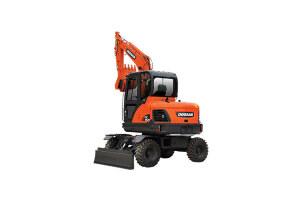 斗山DX60W履带挖掘机