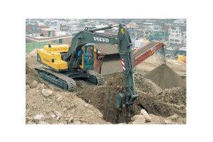 沃尔沃EC210B履带式挖掘机图片集