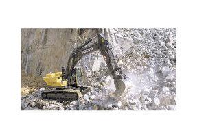 沃尔沃EC360B履带式挖掘机图片集