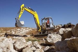 8003紧凑型挖掘机