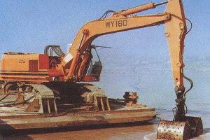 邦立重机WY160船用挖掘机图片集