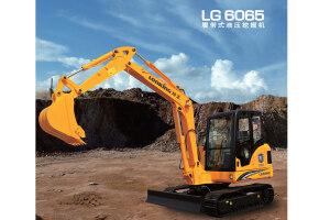龙工LG6065履带挖掘机图片集