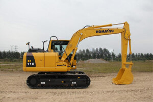 小松PC110-8M0履带挖掘机图片集