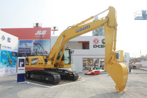 小松HB205-1M0混合动力挖掘机图片集