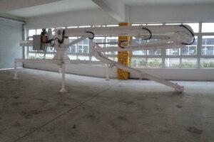 信瑞重工HG13A移动式混凝土布料机图片集