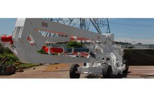 信瑞重工HG15R3D移动式混凝土布料机图片集
