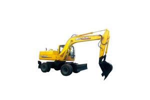 愚公WYL135x4-9轮式挖掘机图片集