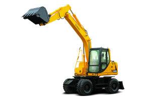 厦工XG815W轮式挖掘机图片集