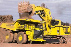 小松PC5500-6履带挖掘机图片集