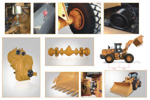 龙工ZL50C轮式装载机图片集