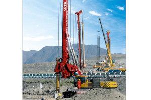 三一SR150C旋挖钻机 图片集
