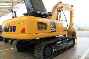 小松PC300-8M0履帶挖掘機圖片集