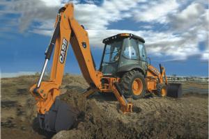 凯斯580SuperN挖掘装载机图片集