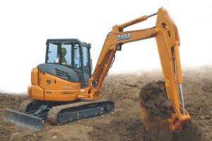 凯斯CX58C履带挖掘机图片集