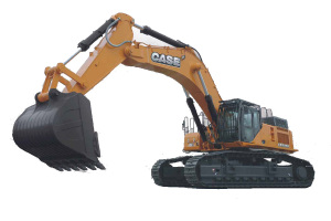 凯斯CX800B ME 大型挖掘机图片集