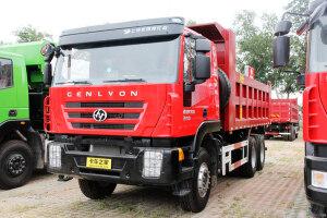 红岩杰狮C100 390马力 8X4 自卸车(CQ3315HTG396)