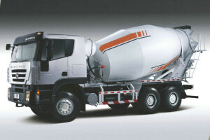 红岩杰狮C100 430马力 8X4 混凝土搅拌车(CQ5315GJBHXG336)(长轴)