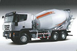 红岩杰狮C100 350马力 6X4 混凝土搅拌车(CQ5255GJBHTG444)(长轴)图片集