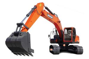 斗山DX220LC-9C履帶挖掘機