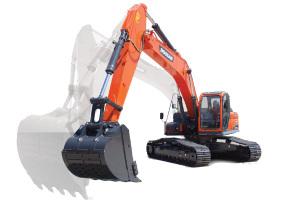 斗山DX260LC-9C履带挖掘机图片集