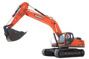 斗山DX300LC-9C履带挖掘机