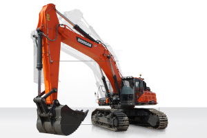 斗山DX520LC-9C履带挖掘机图片集