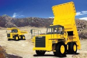 小松礦用自卸車圖片集3