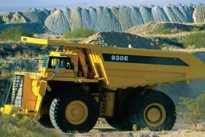 小松礦用自卸車圖片集1