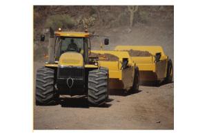 卡特彼勒TS220牽引式鏟運機