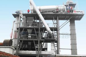南方路机RLB1000沥青热再生厂拌设备