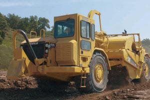 卡特彼勒627G轮式自行式铲运机图片集