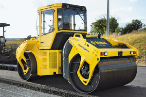 宝马格BW203AD-4AM双钢轮压路机图片集
