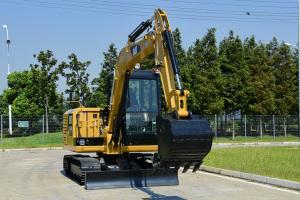 卡特彼勒Cat 305.5E2液压挖掘机图片集