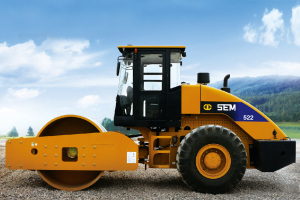 山工SEM522单钢轮压路机图片集