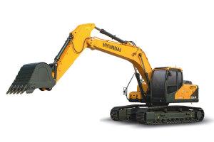 现代R225LVS履带挖掘机图片集