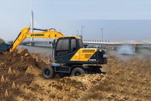 R150WVS轮式挖掘机