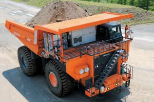 日立EH5000AC-3刚性自卸卡车
