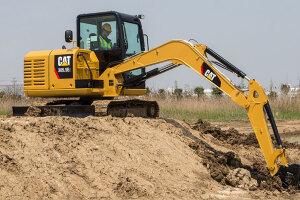 卡特彼勒305.5E2小型挖掘机图片集