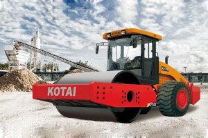 科泰KS125D单钢轮压路机(双驱)