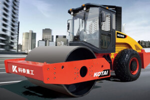 科泰KS205HD-2单钢轮压路机(双驱)